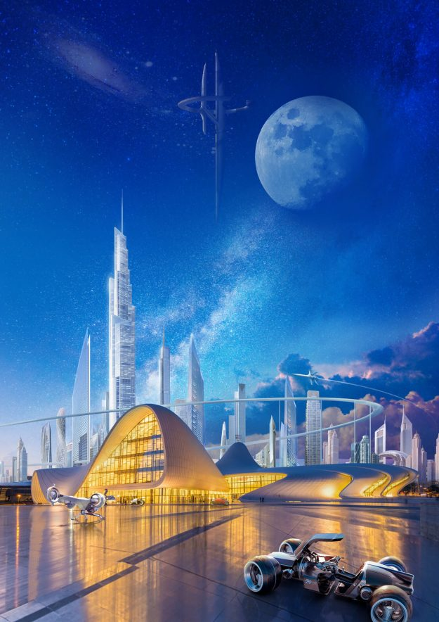 InkPixel - Baku Futuristic1
