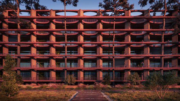 InkPixel - Residential Building Zug 001