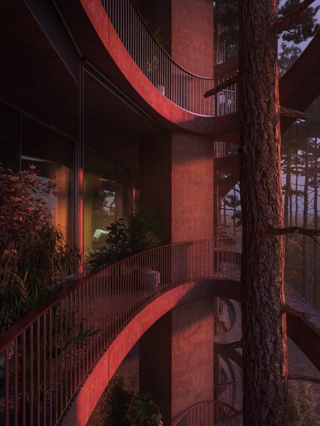 InkPixel - Residential Building Zug 002